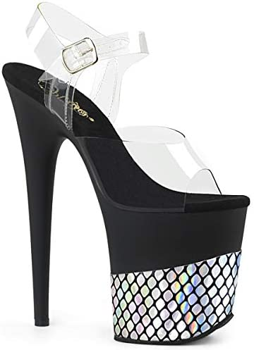 Pleaser Women FLAMINGO-808HFN/C/B-SHG Sandals