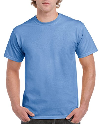 Gildan Men's Ultra Cotton Tee, Carolina Blue, X-Large - Gildan Ultra Cotton Heavyweight Tee