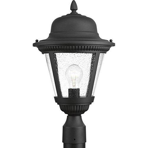 Progress Lighting P5458-31 Westport Black One-Light Post Lantern [並行輸入品] B07R5PTPR8