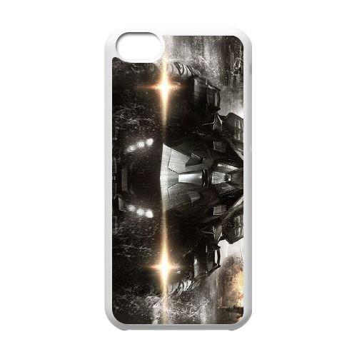 Batman Batmobile coque iPhone 5C Housse Blanc téléphone portable couverture de cas coque EBDOBCKCO09419