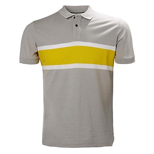 Gris Helly De Sal Hombre Hansen Para Camisa 820 Polo gris Amarillo 4rqp04F