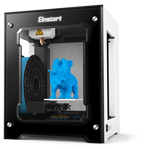 2016 Newest High Performance Shining 3D Einstart-S Desktop 3D Printer (Alloy Framework, High Accuracy, Stability and Speed, Large Build Size) Printers Shining 3D