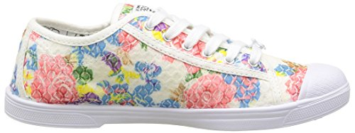 Le Bloom des 02 Basic Temps Cerises Femme Multicolore Baskets rvwPfr1nq