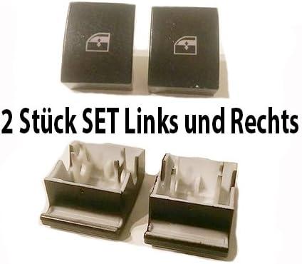 2x Für Opel Astra H Zafira B Fensterheber Schalter Tasten Reparatur Vorne Links Und Rechts Auto