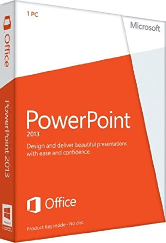 Corporation Microsoft Powerpoint 2013 - License - 1 PC English