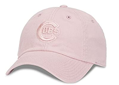 Chicago Cubs MLB American Needle Tonal Ballpark Slouch Cotton Twill Adjustable Hat (Club Pink)