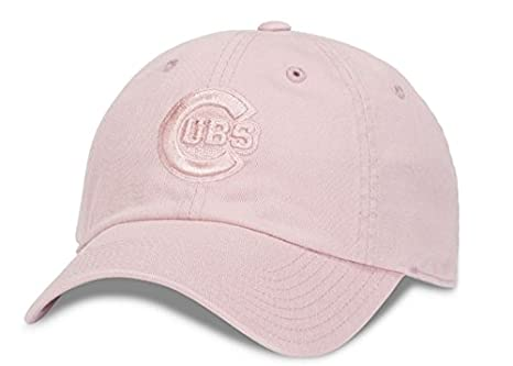 70b88a9109a ... discount chicago cubs mlb american needle tonal ballpark slouch cotton  twill adjustable hat club pink 83888