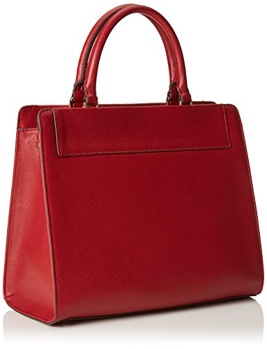 Trussardi Jeans vail satchel bag red