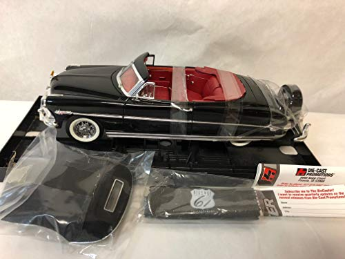 Highway 61 Collectibles - 1952 Hudson Hornet Convertible - Black - 1:18 Scale