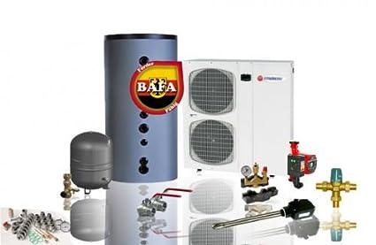 Bomba de calor aire – Agua de Solar Bayer aeromono Invert WP 11 kW Calefacción &