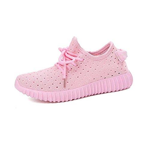 xie Chaussures de Course à Coups respiratoires Nettes pour Femmes d'été Chaussures à Lacets Plates Chaussures à Lacets Chaussures sans Chaussures Chaussures Décontractées pour extérieur XL wjpUwqw9rb