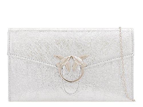 Silver Handbag Evening Bag Cross Women's Purse Evening Clutch LeahWard Body 1ORzxtnww