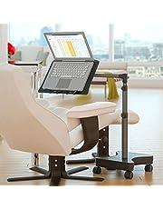 LEVO Rolling Laptop Workstation Stand for Laptops, Books, Tablets, Art, etc.