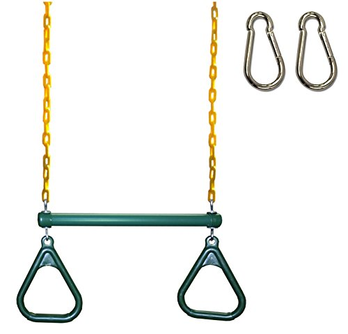 (Eastern Jungle Gym Heavy-Duty Ring Trapeze bar Combo Swing, Large 20