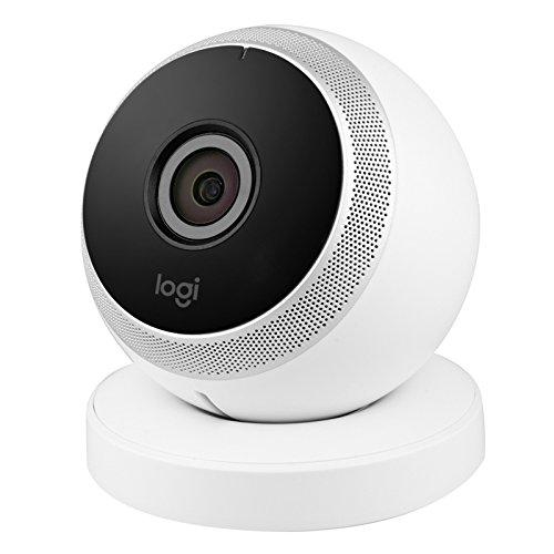 - Logitech Circle Wireless HD Video Security Camera with 2-way talk - White - (Renewed)