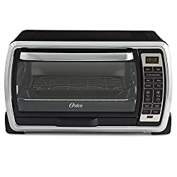 Oster Large Digital Countertop Convection Toaster Oven, 6 Slice, Blackpolished Stainless (Tssttvmndg-shp-2)