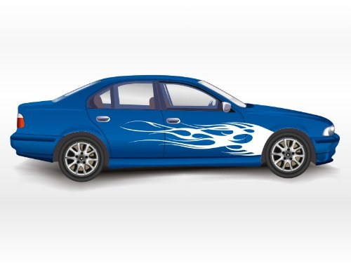 Side Vinyl Decals For Cars Amazoncom - Decal graphics for cars