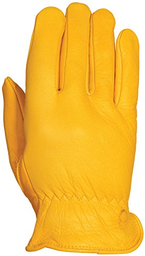 Premium Cowhide Driver (Bellingham C2354IL Premium Insulated Cowhide Driver Gloves, Top Grain Golden Leather, 40-Gram Thinsulate Insulation, Large)