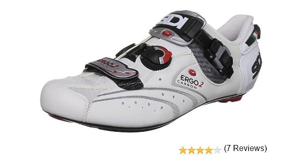 Sidi Ergo 2 Cl, Zapatillas de Ciclismo para Mujer, Blanco, 46 EU ...