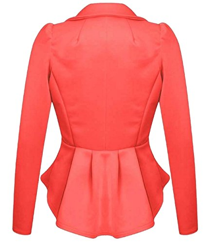 Xclusive Plus - Chaqueta de traje - para mujer Coral