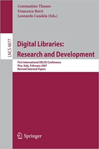 Digital Libraries: Research and Development: First