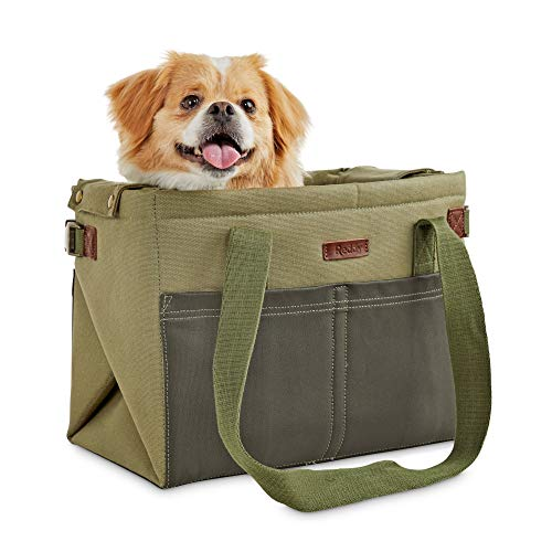 Reddy Convertible Cotton Pet Carrier and Mat in Camo, 14″ L x 8.5″ W x 11″ D, Medium