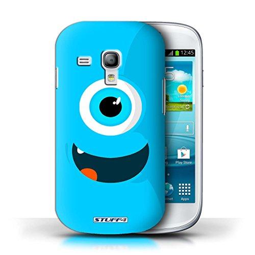 Kobalt® Imprimé Etui / Coque pour Samsung Galaxy S3 Mini / Bleu conception / Série Monstres