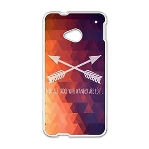 HTC One M7 Cell Phone Case White Wander SLI_545260