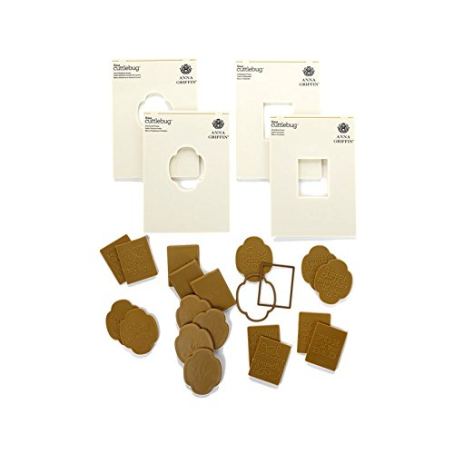 Anna Griffin Mix & Match Cuttlebug Embossing Folders with Set of 2 Dies