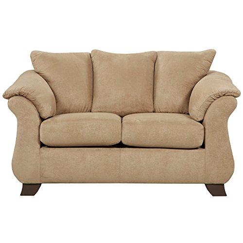 Flash Furniture Exceptional Designs by Flash Sensations Camel Microfiber Loveseat