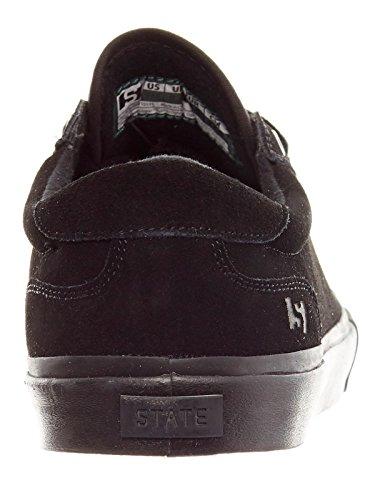 State Chaussure Noir Suède noir Hudson Y76fygbv