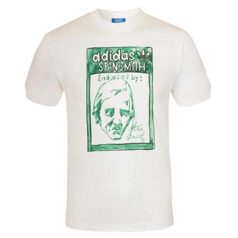 Adidas Originals Official Gift Stan Smith Nigo artist Mens T-Shirt Medium