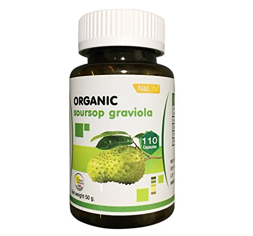 NalLife Organic Soursop Graviola 110 Capsules