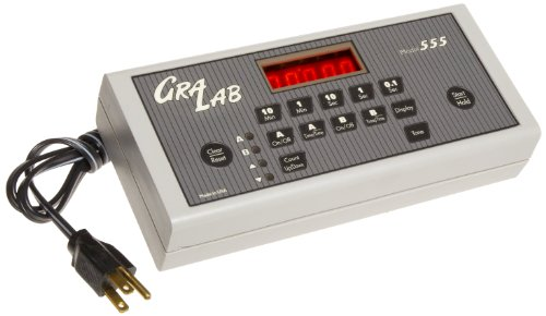 GraLab Model 555 High-Accuracy Digital Electronic Scientific Switching Timer