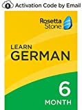 Rosetta Stone: Learn German for 6 months on iOS, Android, PC, and Mac - mobile & online access [PC/Mac Online Code]