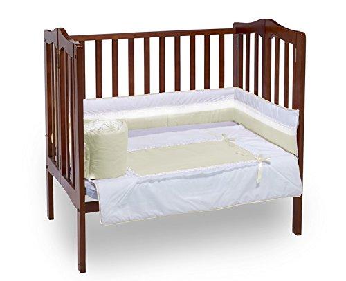 Baby-Doll-Bedding-Royal-Mini-Crib-Port-a-Crib-Bedding-Set-Ecru