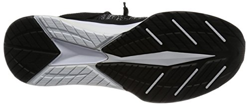 Competition Puma quiet Shade Ignite Black Shoes Adults' Black Running white Unisex Evoknit I66FvqBw