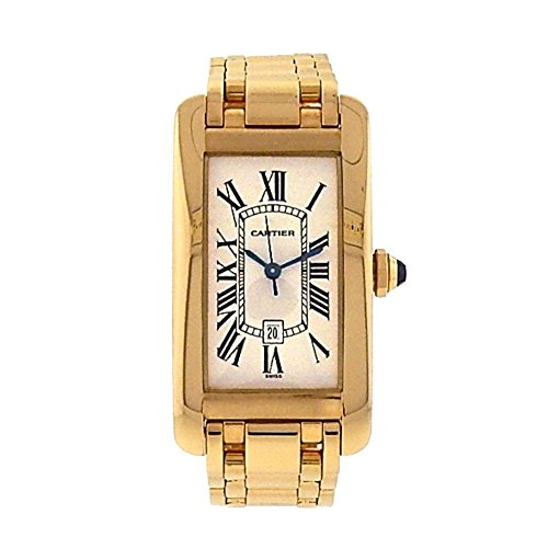 Cartier Tank Americaine automatic-self-wind mens Watch 1725 (Certified Pre-owned)