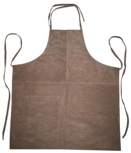 Suede Apron - Driftwood