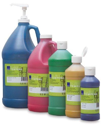 Blick Student Grade Tempera, Basic 6-Color Pump Kit, Gallons