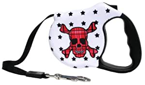 Avant Garde Retractable Dog Leash, Death Star, Small