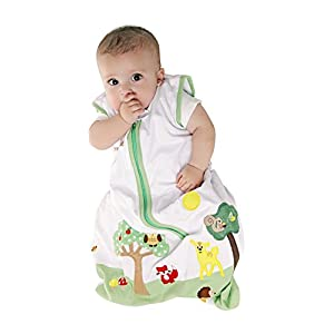 Slumbersafe Baby Sleeping Bag 2.5 Tog - Forest Friends, 0-6 months/SMALL