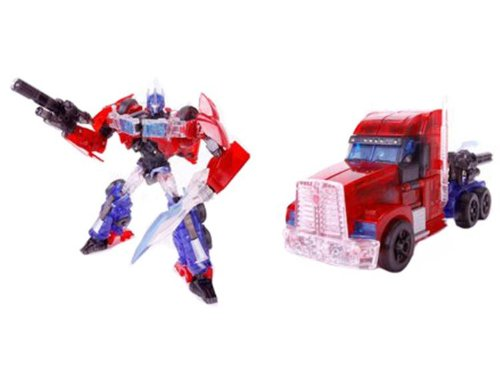 Tokyo Toy Show 2012 Exclusive First Edition Clear Voyager Optimus Prime (製造元:Takara Tomy) [並行輸入品] B07BGC5Z8M