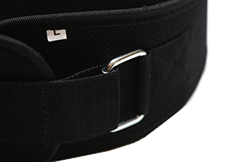 Fire Team Fit Weightlifting Belt, Olympic Lifting, Weight Belt, Weight Lifting Belt for Men and Women, 6 Inch, Back Support for Lifting