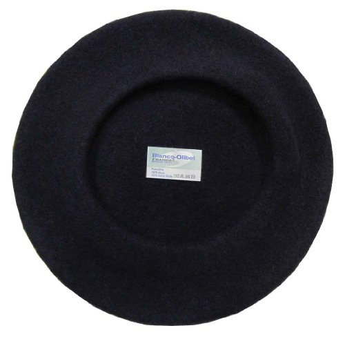 Blancq-Olibet Youth Traditional French Wool Beret Navy for $<!--$24.00-->