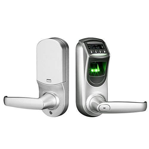 ZKTeco L7000-U OLED Display Keyless Biometric Fingerprint Door Lock Fingerprint + Password+ Key(Support Query Door Open Logs & USB Flash Disk) Dongguan ZKTeco Electronic technology Co.Ltd