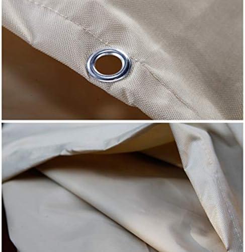 家具カバー ファニチャーカバー ガーデンラタン家具カバー オックスフォード布 家具機械装置 防水 防塵 抵抗力がある、 22サイズ、 カスタマイズ可能 JFIEHG-7 (Color : Beige, Size : 100x100x85cm)