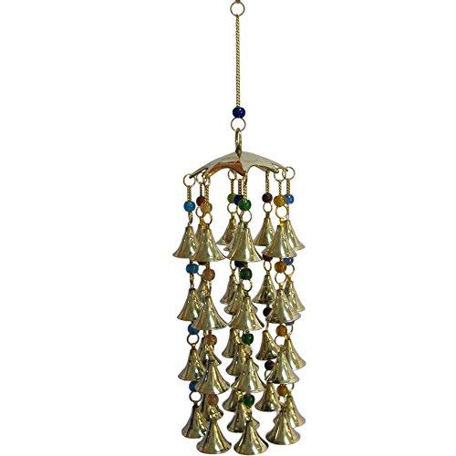 Beaded Brass Bell Yoga Zen Meditation Harmony Hanging Wind Chime