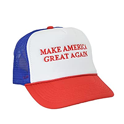 DALIX Red White Blue Embroidered Make America Great Again Hat Donald Trump Campaign