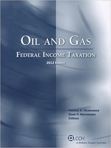 Counting Number worksheets gas law worksheets : Oil and Gas: Federal Income Taxation (2012): Patrick A. Hennessee ...